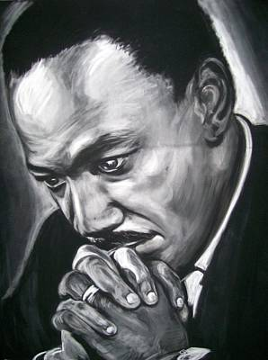 Pastel - Martin Luther King Jr by Martha Suhocke