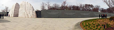 Martin Luther King Jr. Memorial At West Art Print by Panoramic Images