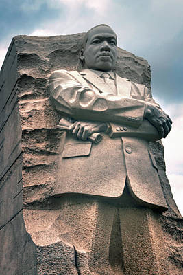 Photograph - Martin Luther King Jr Memorial by Jerry Gammon