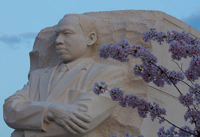 Photograph - Martin Luther King Jr Memorial by Leah Palmer
