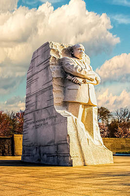 Photograph - Martin Luther King Jr Monument by Nick Zelinsky