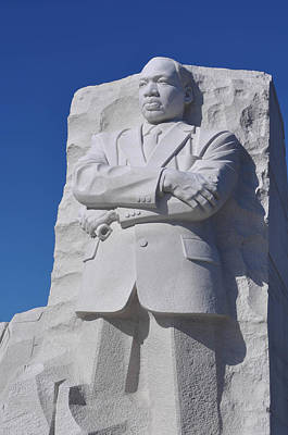 Martin Luther King Memorial Art Print by Brandon Bourdages