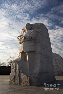 Photograph - Martin Luther King Memorial by Jim West