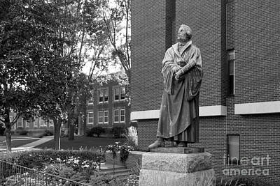 University Of Illinois Photograph - Martin Luther by University Icons