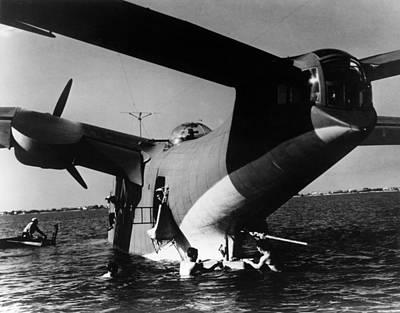 Photograph - Martin Pbm Mariner, 1941 by Granger