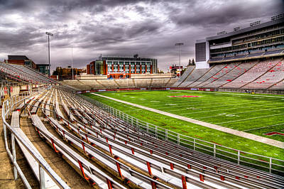 Photograph - Martin Stadium In Pullman Washington by David Patterson