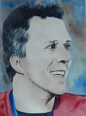 Painting - Martin St. Louis by Betty-Anne McDonald
