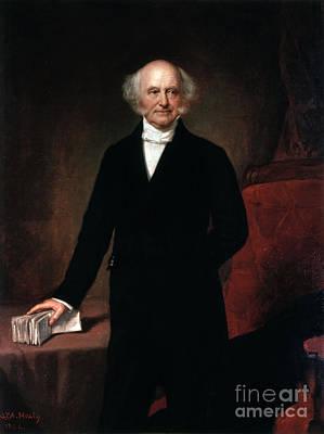 President Painting - Martin Van Buren by GPA Healy