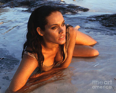 Martine Beswick In Thunderball Print by The Harrington Collection