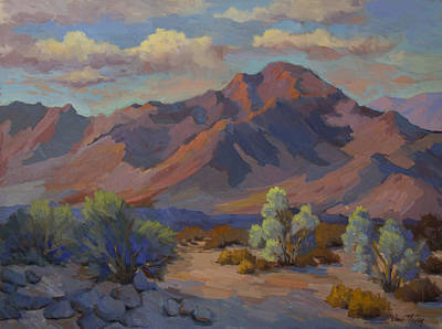 Martinez Painting - Martinez Mountain In La Quinta Cove by Diane McClary