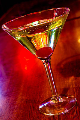 Photograph - Martini At The Local Pub by Teri Virbickis