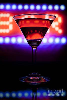 Martini Digital Art - Martini bar by Rodrigo Reyes Marin
