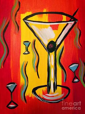 Martini Royalty-Free and Rights-Managed Images - Martini Celebration  by Melissa Darnell Glowacki