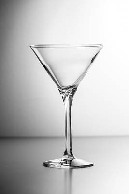 Martini Royalty-Free and Rights-Managed Images - Martini Glass by John Shurtz