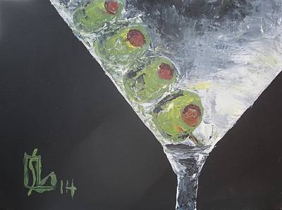 Painting - Martini by Lee Stockwell