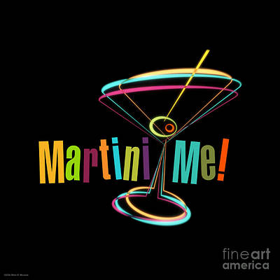 Martini Royalty-Free and Rights-Managed Images - Martini Me  by Mary Machare