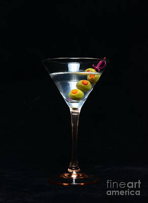 Martini Art Print by Paul Ward