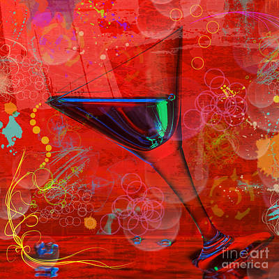 Martini Royalty-Free and Rights-Managed Images - Martini Red by Mauro Celotti