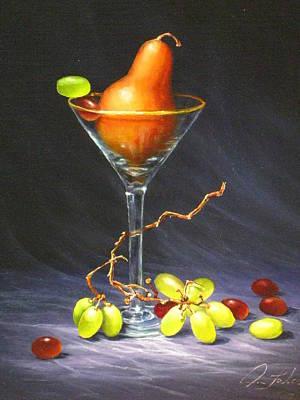 Martini Art Print by Sean Taber