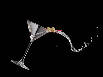Martini Photos - Martini Spill by Alexey Stiop