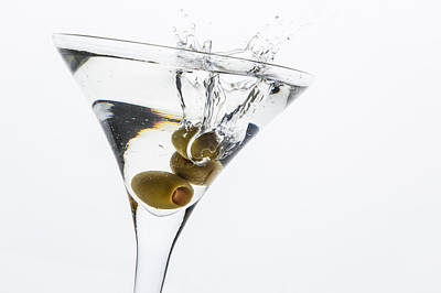 Martini Photos - Martini Splash by Erin Cadigan