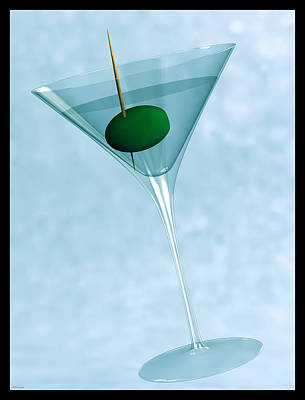 Digital Art - Martini... by Tim Fillingim