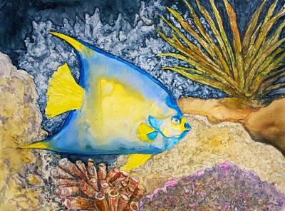 Martinique Angel Art Print