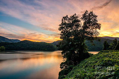 Photograph - Martins Fork Sunset by Anthony Heflin