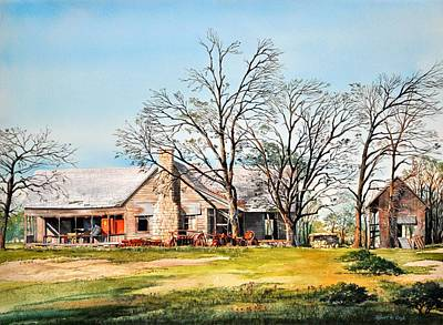 Martin's Homestead Art Print