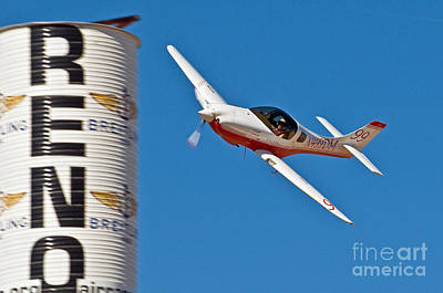 Lancair Photograph - Martin's Legacy- Lancair 320 by Steve Rowland