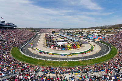 Photograph - Martinsville Speedway 2013 by Alan Raasch