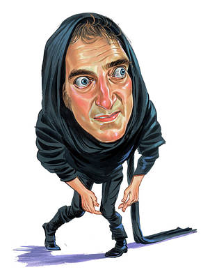 Caricature Painting - Marty Feldman As Igor by Art