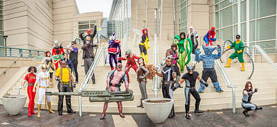 Photograph - Marvel Universe C2e2 2013 by Andreas Schneider