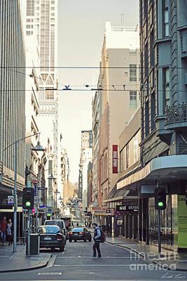 Laneway Photograph - Marvellous Melbourne 2 by Linda Lees
