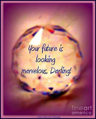 Marvelous Darling Art Print by Bobbee Rickard