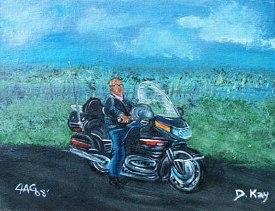 Painting - Marvins Ride by The GYPSY And DEBBIE