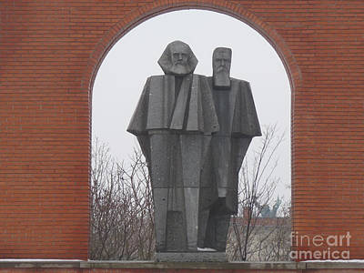 Photograph - Marx And Engels by Deborah Smolinske