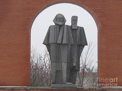 Photograph - Marx And Engels by Deborah Smolinske