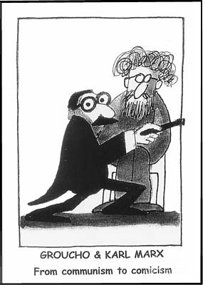 Groucho Marx Mixed Media - Marx Bros. by Robert Gumpertz