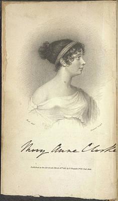 Mary Anne Clarke Art Print