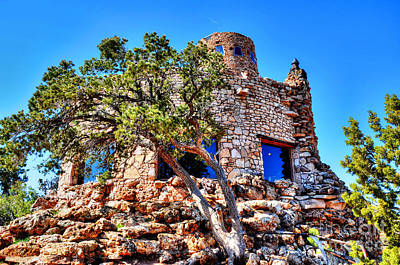 Photograph - Mary Colter's Tower by Paul Mashburn