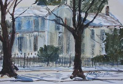 Mary Ecks House Art Print