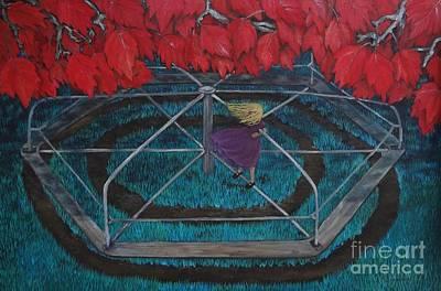Mary Go Round Art Print