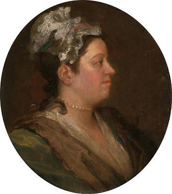 Hogarth Painting - Mary Hogarth, William Hogarth, 1697-1764 by Litz Collection