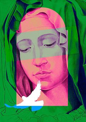 Mary I Art Print by Savyra Meyer-Lippold