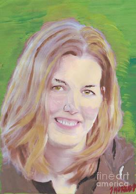 Hbk Painting - Mary by John Morris