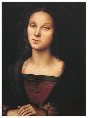 Mary Magdalen Art Print by Pietro Perugino