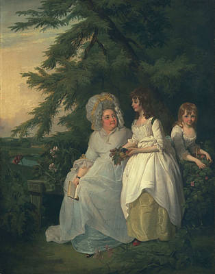 Mary Margaret Wood And Two Art Print