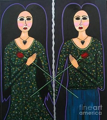 Painting - Mary Marie by Sandra Marie Adams