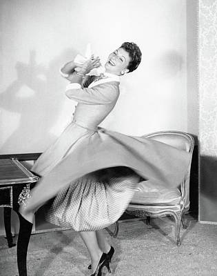 Photograph - Mary Martin Dancing by Horst P. Horst